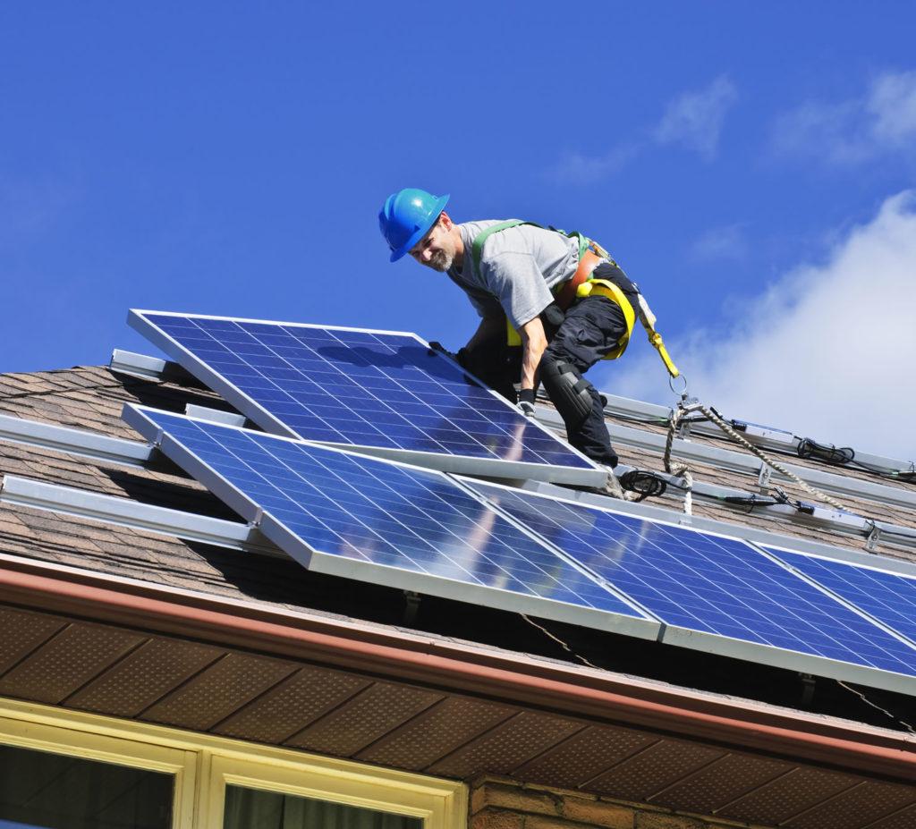 Подключение солнечных панелей