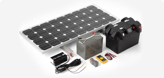 Полный комплект солнечной электростанции