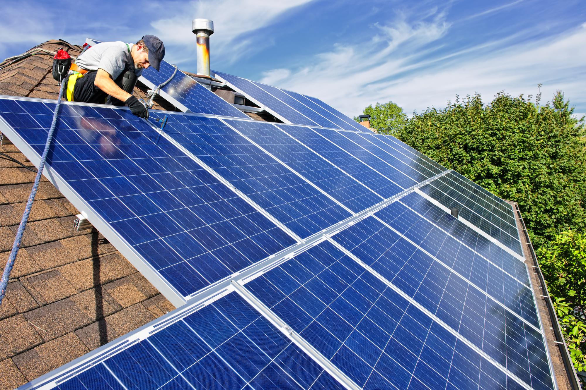 Солнечная энергия в доме.