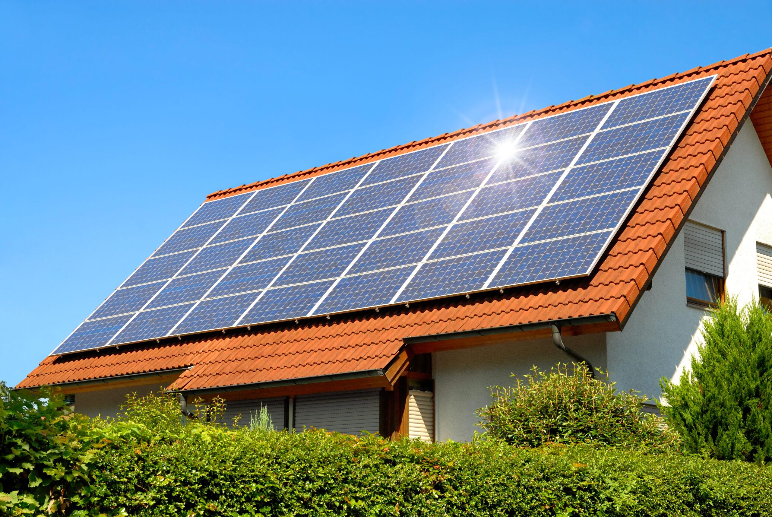 Установка солнечных панелей под ключ