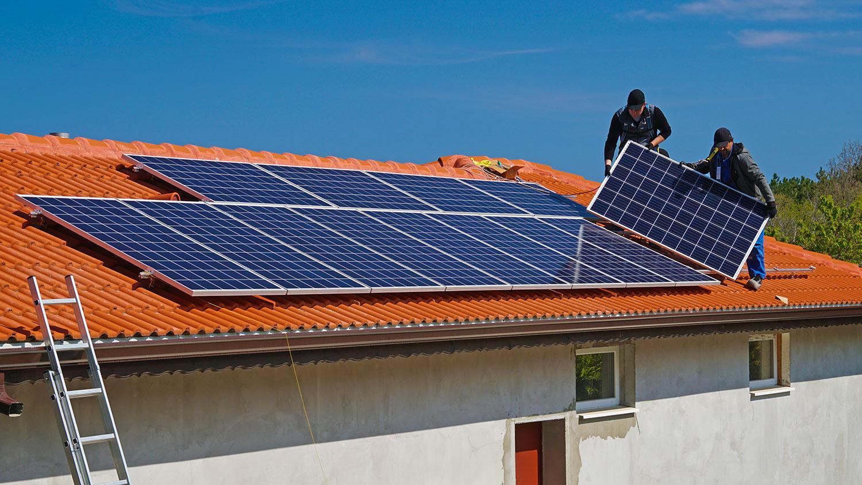 Строительство солнечных электростанций с подключением