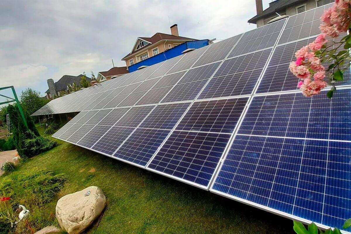 Солнечные электростанции Кривой Рог