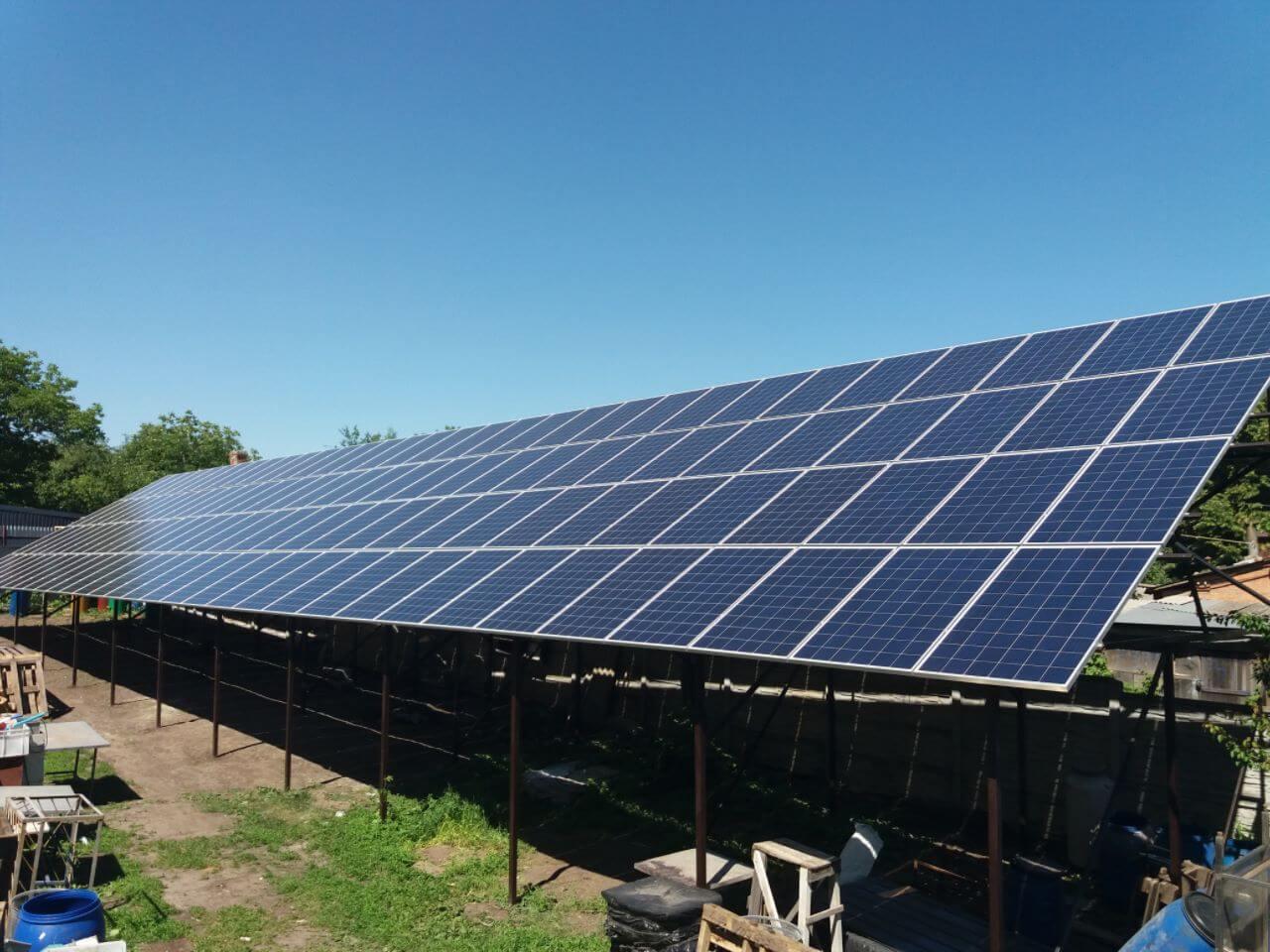 Солнечные электростанции в пгт. Кринички