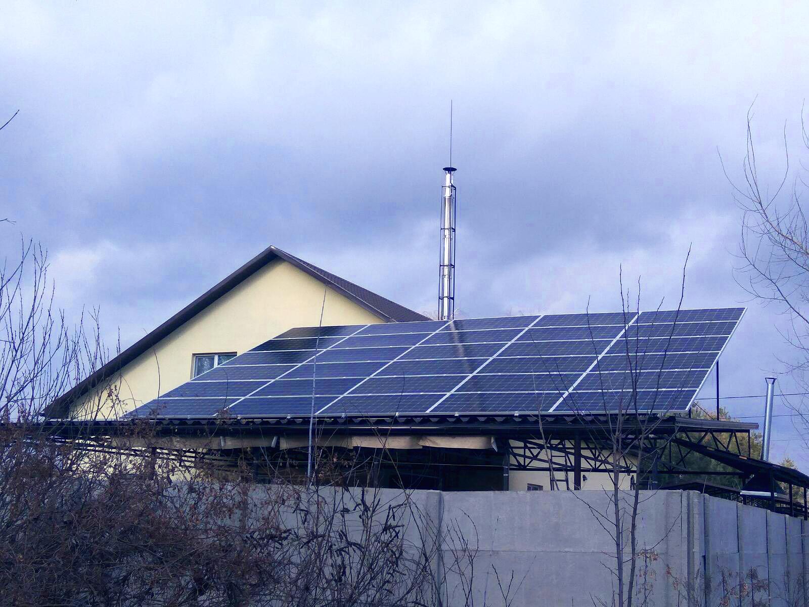 Солнечные электростанции пгт. Царичанка