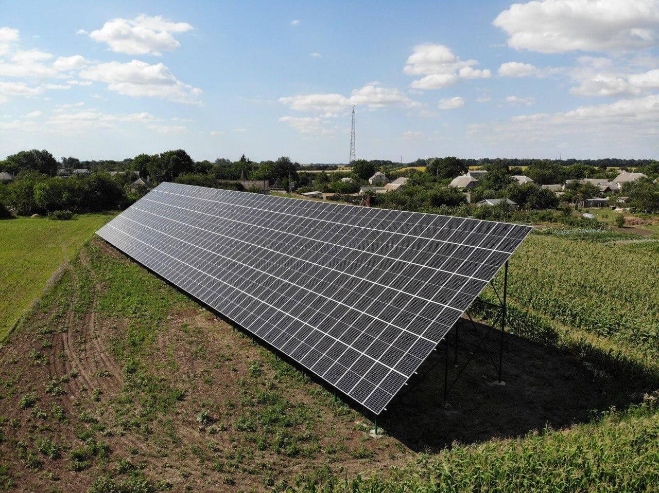 Солнечные электростанции под ключ Павлоград