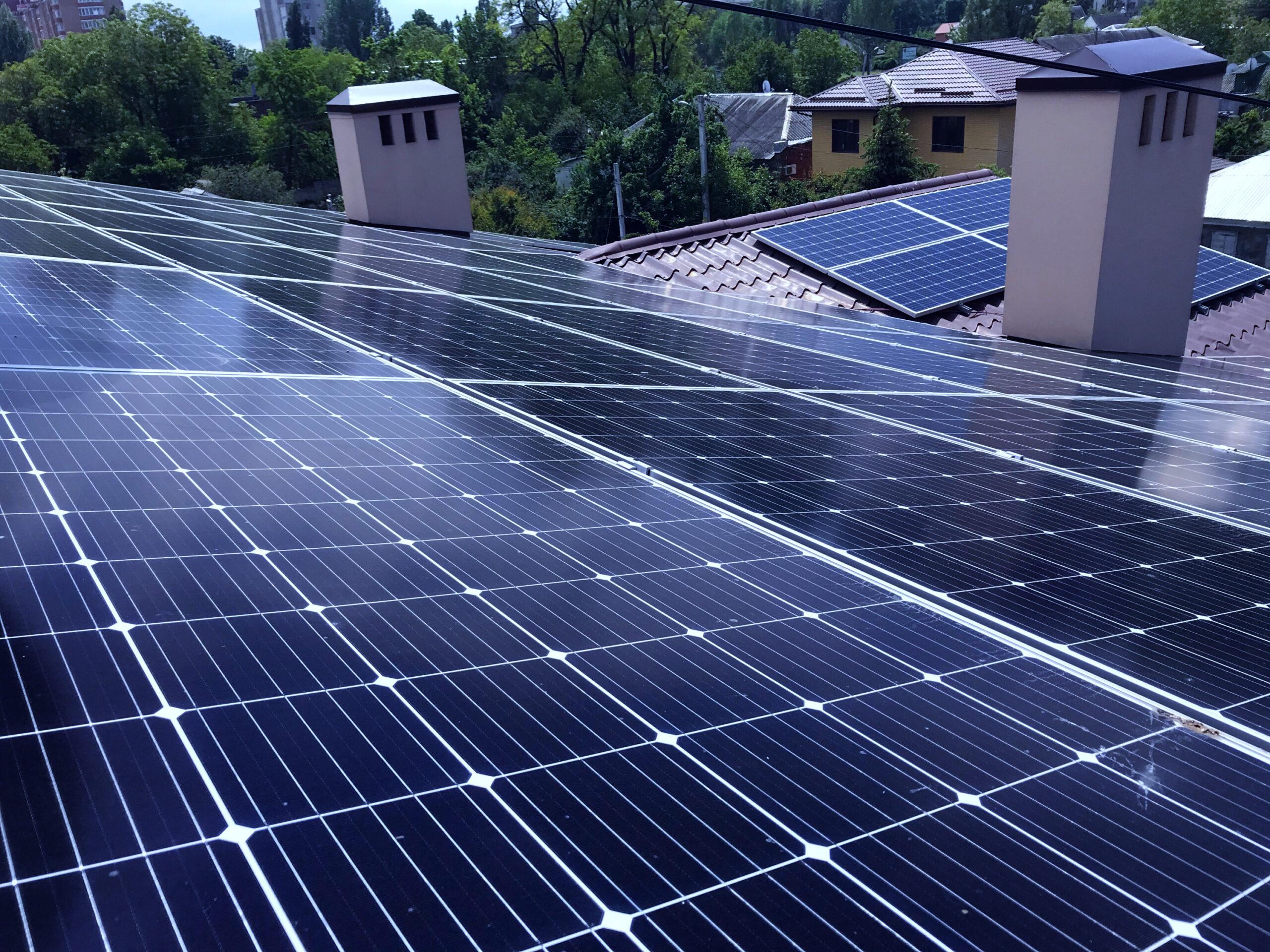 Солнечные электростанции под ключ в Царичанке
